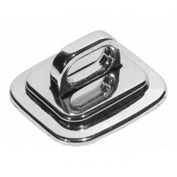 Plaque d'antivol métal avec...